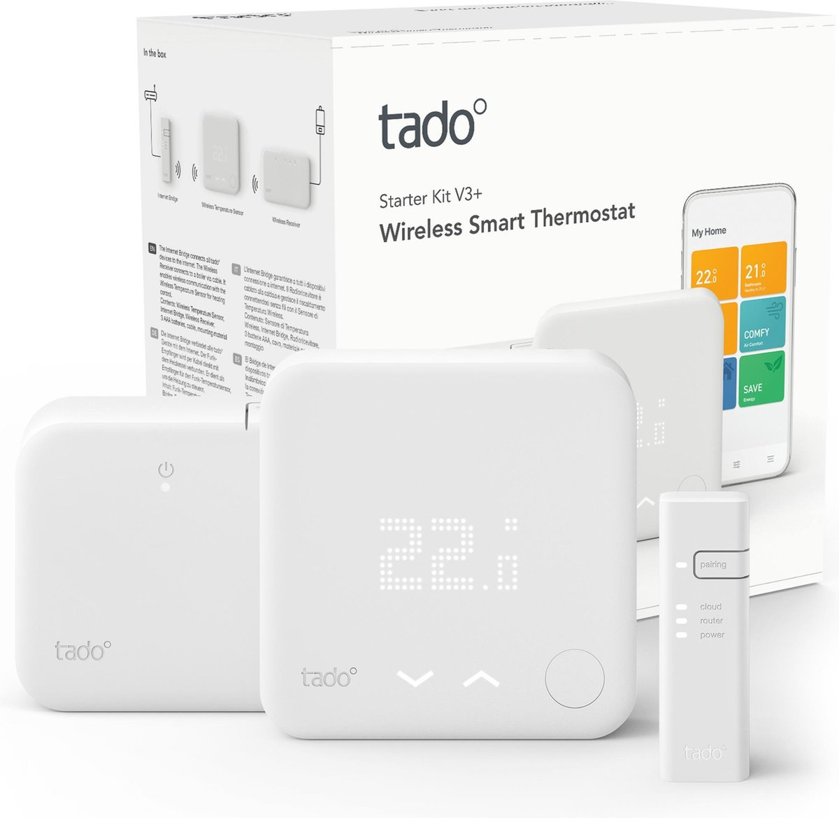 tado slimme thermostaat v3